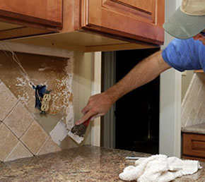Tile backsplashes are a piece of cake to design and install to make your kitchen look great.