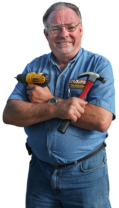 Rob Skillman provide quality home repairs. He IS the Skill-Man.