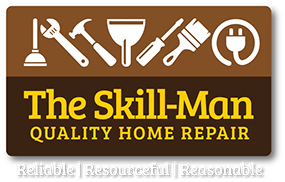 The Skill-Man Quality Home Repair logo.